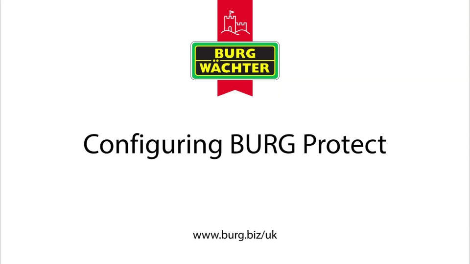 Burg Wachter BURGprotect Smart Alarm Gold Kit