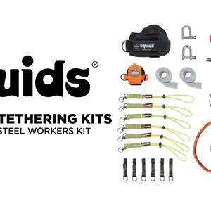 Ergodyne Product Video - Squids<sup>®</sup> 3186 Iron/Steel Worker's Tool Tethering Kit