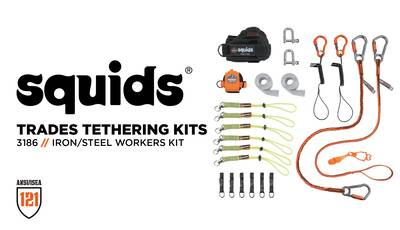 How To Tether Your Tools With The Iron & Steel Worker's Tethering Kit