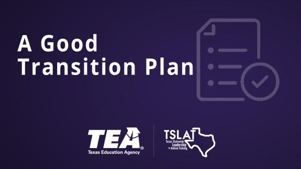 A Good Transition Plan