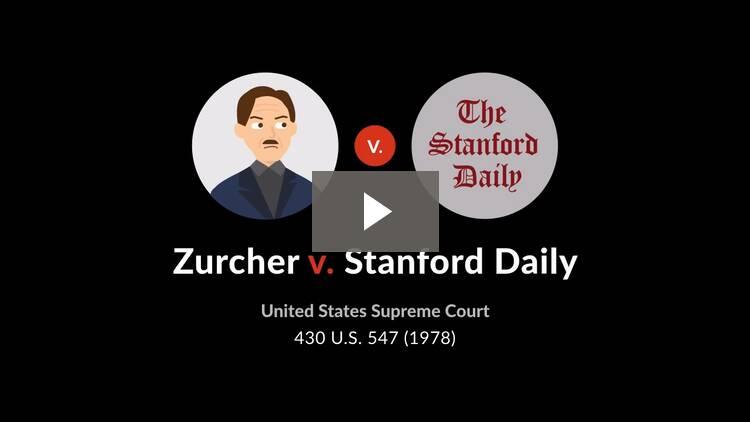 Zurcher v. Stanford Daily