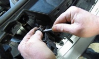 Replacing The Hood Latch (With Electronic Alarm Assembly) On Land Rover Vehicles video screen shot
