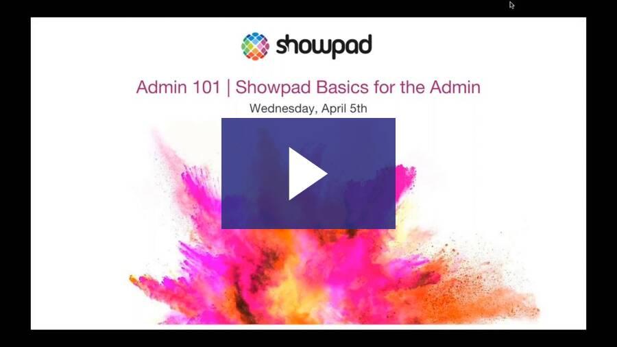 Admin 101 - 2017 Apr
