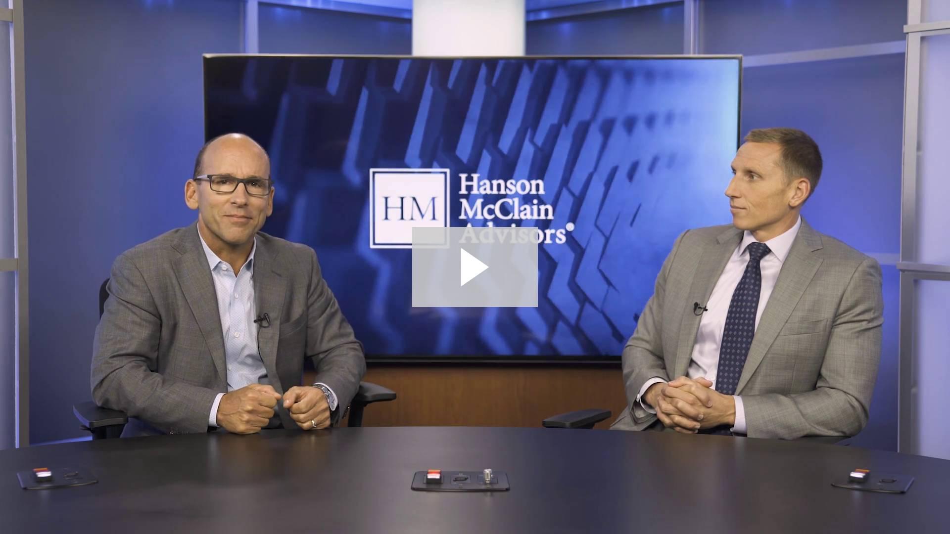 Hanson McClain Q3 2017 Market Update Webcast