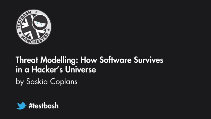Threat Modelling: How Software Survives in a Hacker's Universe Saskia Coplans