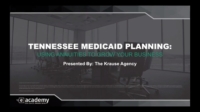 Tennessee Medicaid Planning: Using Annuities to Grow Your Business