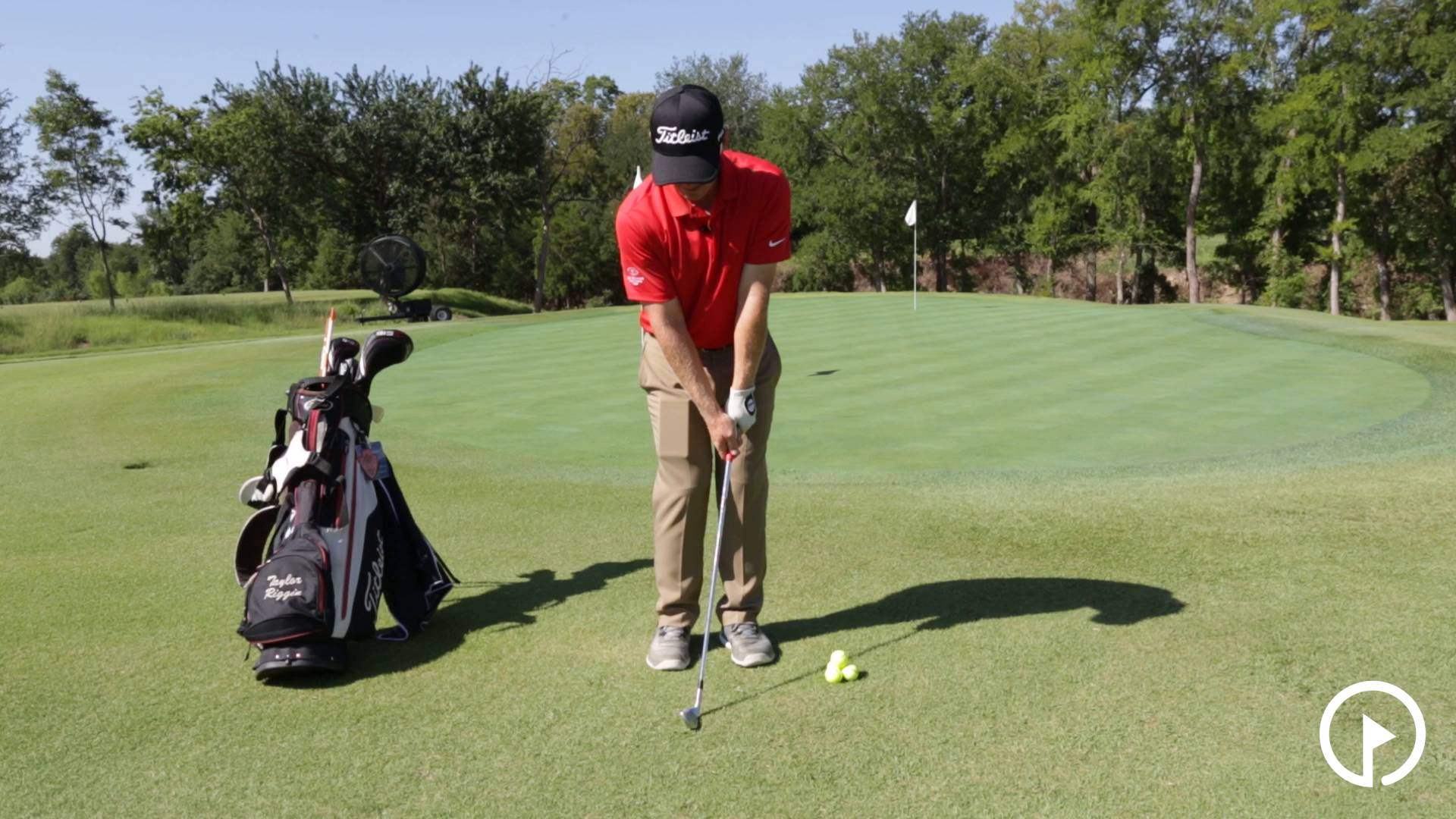 Chipping Technique: Proper Stroke and Impact Position