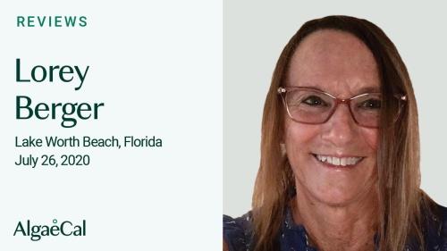 Testimonial thumbnail portrait of Lorey Berger