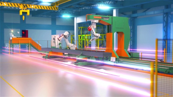 Robotic Welding for Structural Steel Fabrication | PeddiAssembler
