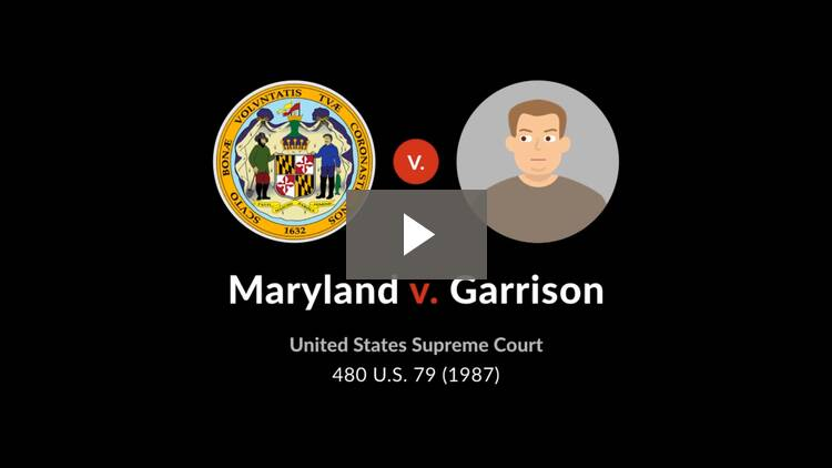 Maryland v. Garrison