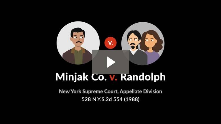 Minjak Co. v. Randolph