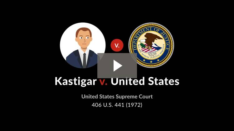 Kastigar v. United States