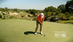 Putting: Eliminate Leg Movement