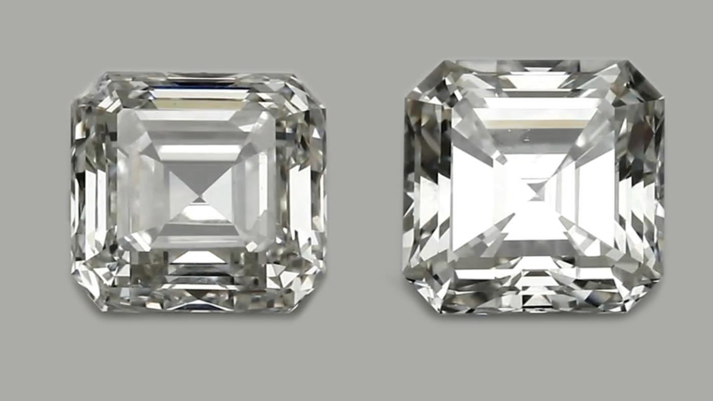 Asscher cut diamonds - a guide