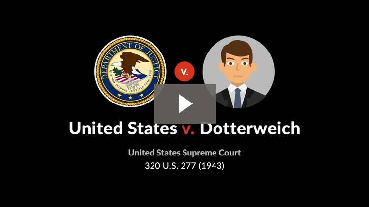 United States v. Dotterweich