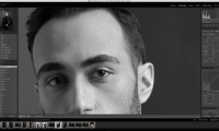 Thumbnail for Retouching / Commercial Portrait-Black & White Conversion