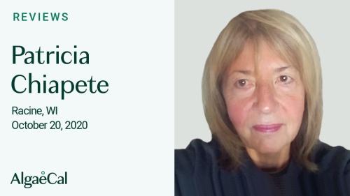 Testimonial thumbnail portrait of Patricia Chiapete