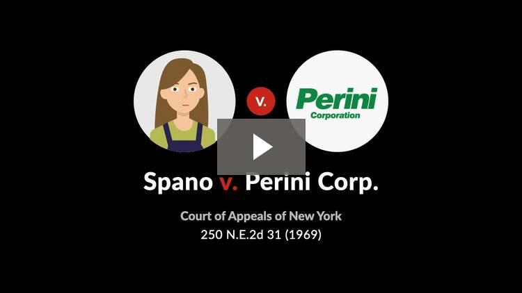 Spano v. Perini Corp.