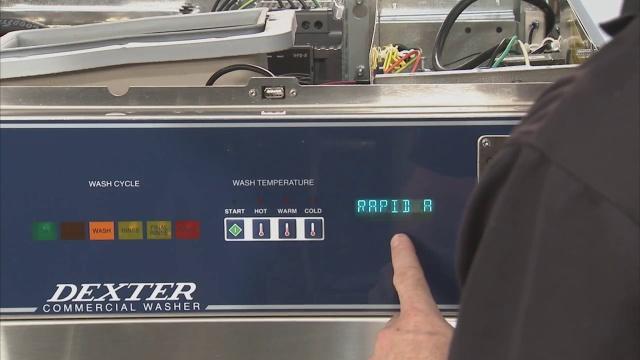 Programación de precio de la lavadora a monedas Dexter de la serie-C