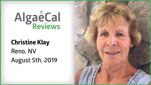 Testimonial thumbnail portrait of Christine Klay