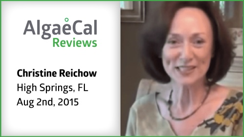 Testimonial thumbnail portrait of Christine Reichow