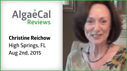 Testimonial thumbnail portrait of Christine Reichow