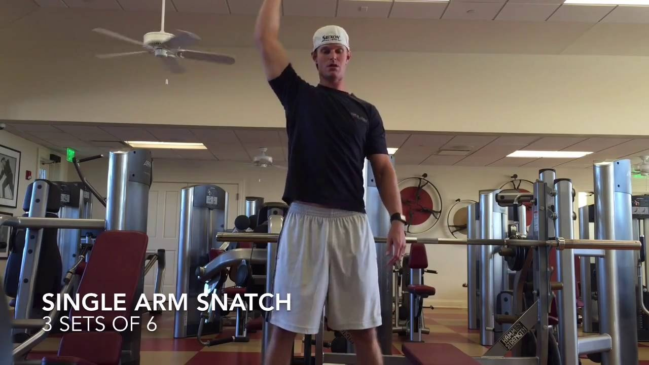 Get Longer Off The Tee Box By Doing This Workout