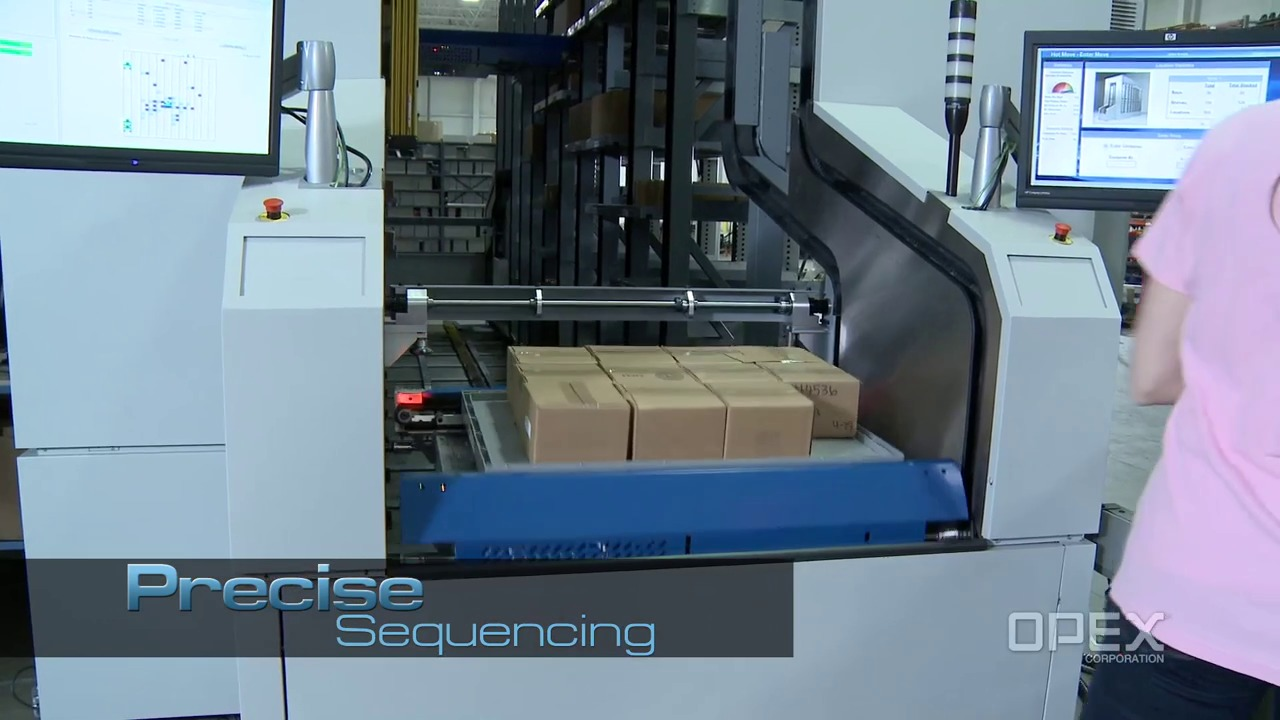 "Perfect Pick is a truly unique robotic goods-to-person picking technology that was engineered to simplify order fulfillment. Perfect Pick's ""one touch"" design is based on a single automated component – the iBOT."