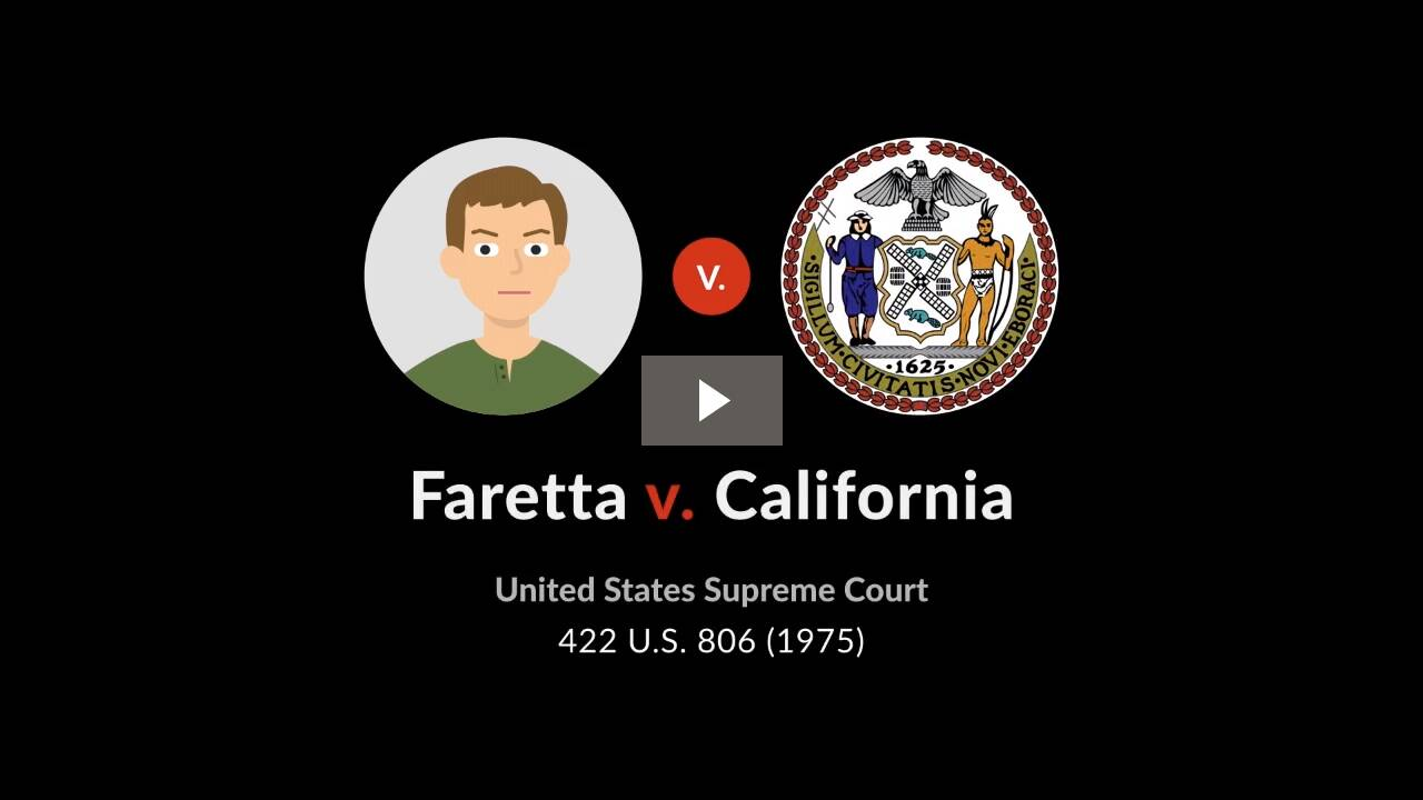 Faretta v. California