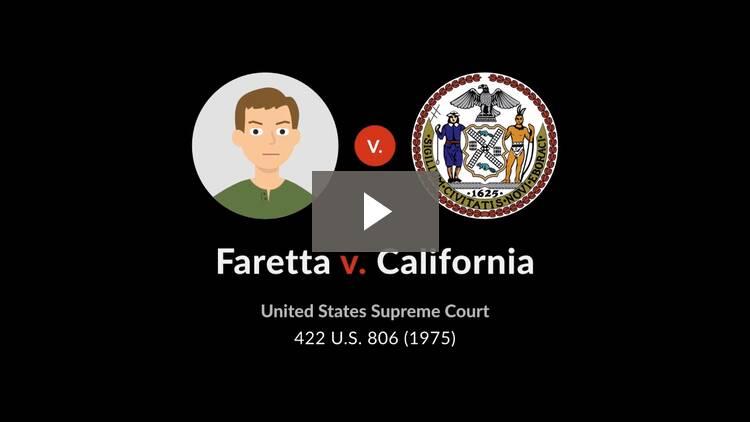Faretta v. California