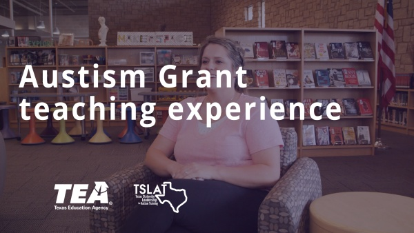 Autism grant teaching experience