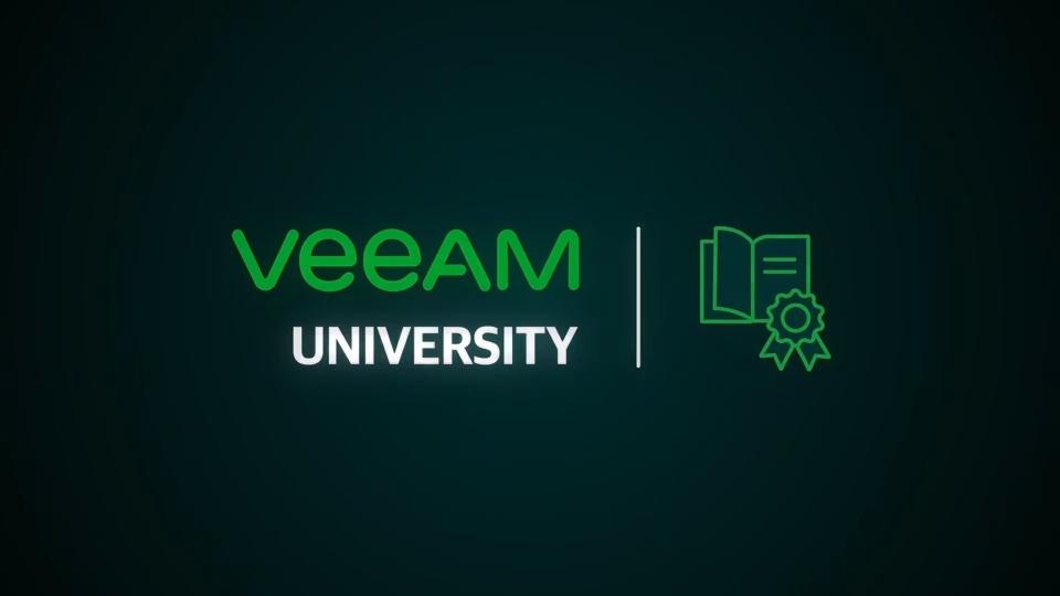 Veeam University: Welcome Video