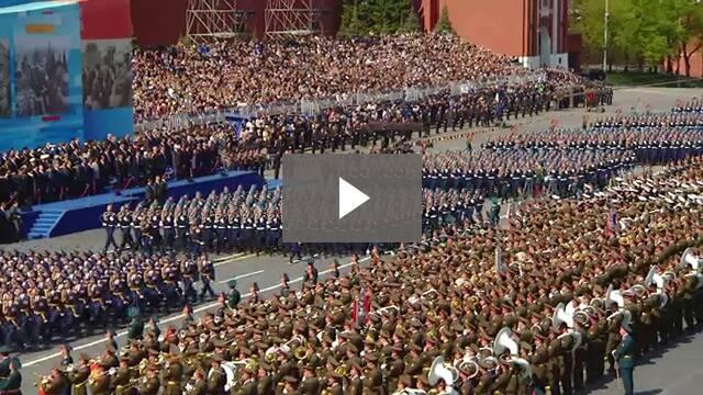 Парад на Победата - Москва, Червения площад, 9 май 2015 година