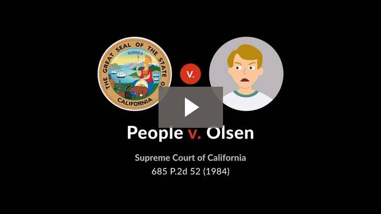 People v. Olsen