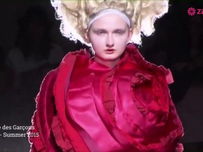Commes des Garçons: Futurismo irrevente en colores intensos que te robarán el aliento