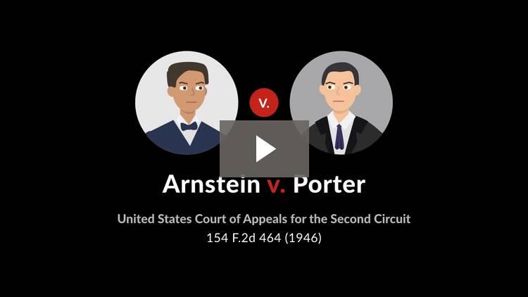 Arnstein v. Porter