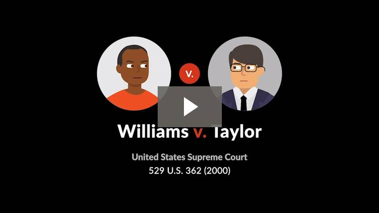 Williams v. Taylor