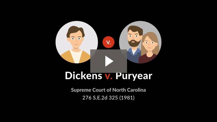 Dickens v. Puryear