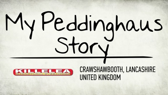 My Peddinghaus Story - Killelea Structural Steelwork - Crawshawbooth - UK