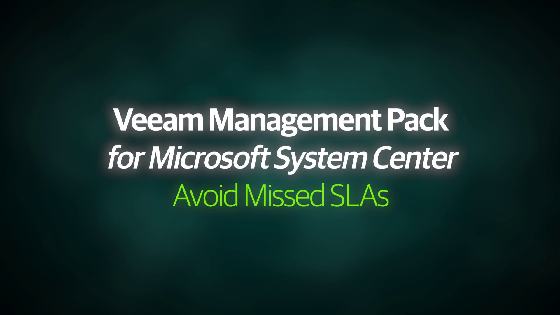 VMP v8 - Demo Video - Avoid Missed SLAs - EN