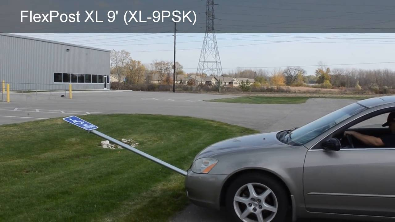 Flexpost Xl Signpost Parking System With 9 Ft Post Sku