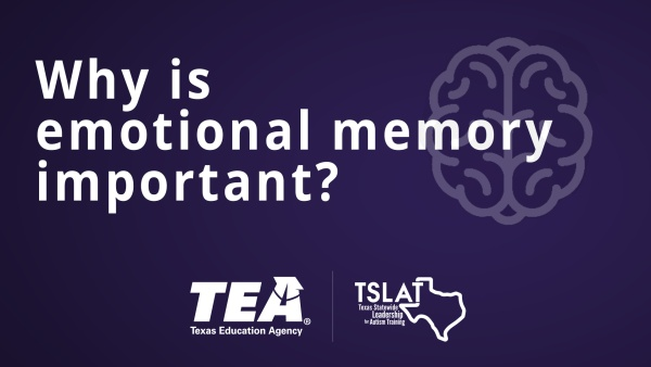 Why is emotional memory important?