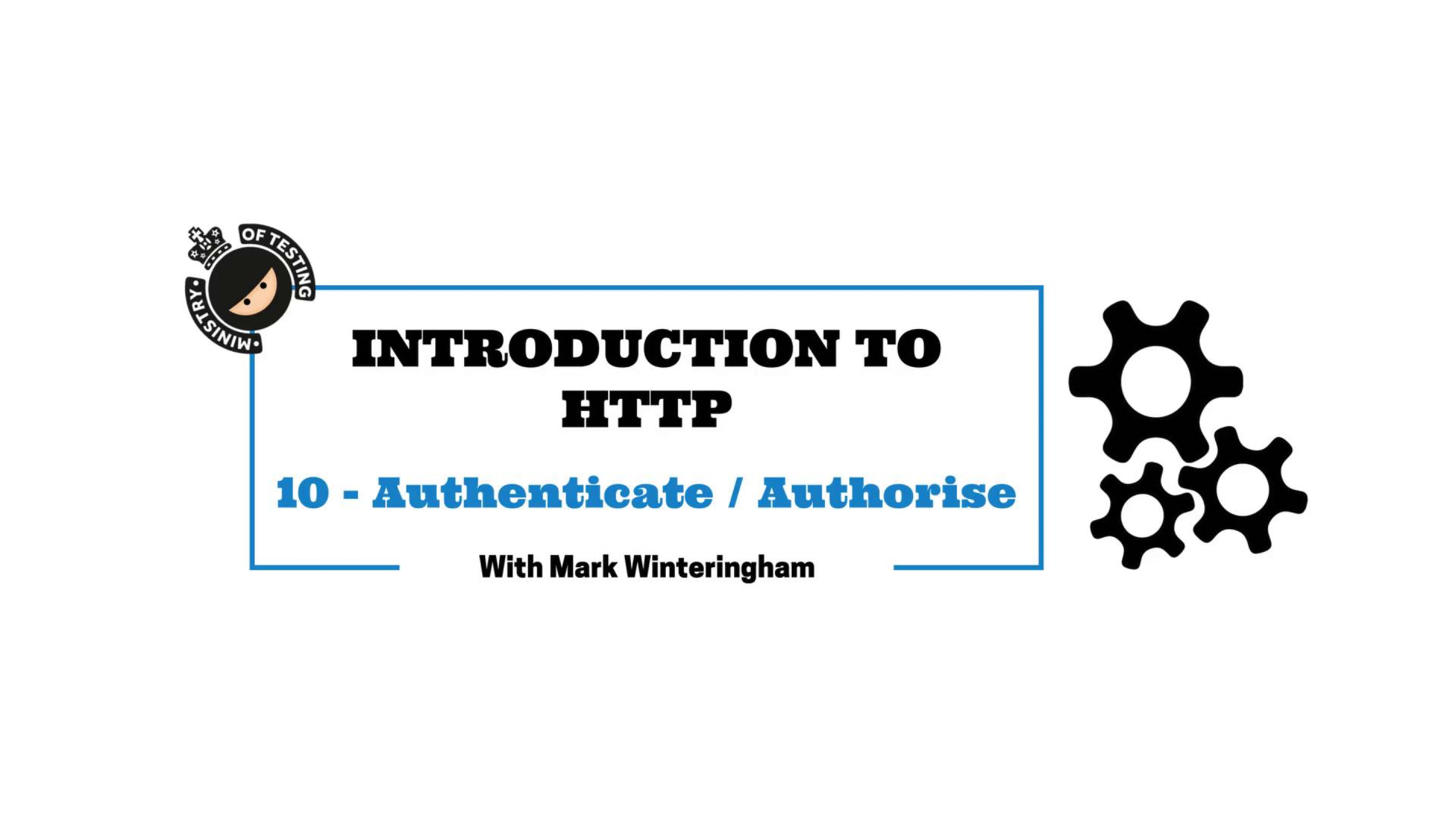 Authorisation and Authentication