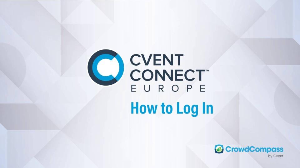 Cvent CONNECT Europe 2018 - Mobile App | Online Registration by Cvent