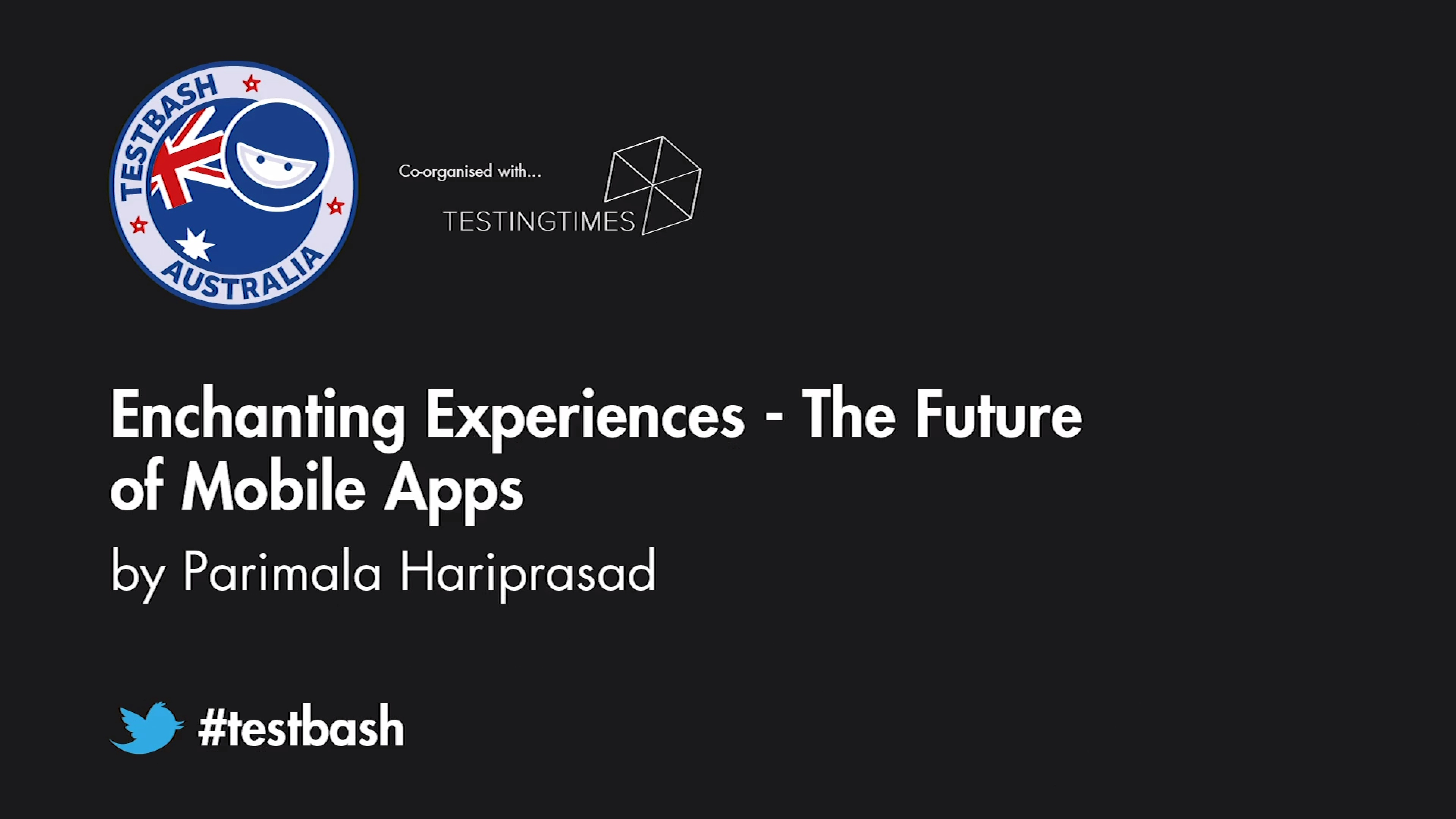 Enchanting Experiences: The Future Of Mobile Apps - Parimala Hariprasad