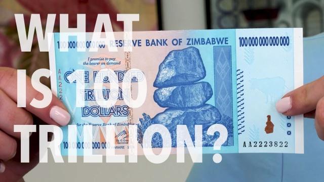 100 x 5 /& 10 Billion Dollars-2 money currency bundles 200 Zimbabwe Banknotes