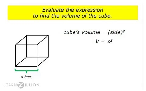 write a c program to find the volume and surface area of cube