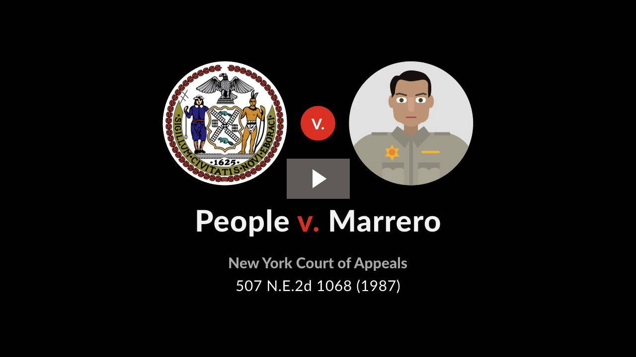 People v. Marrero