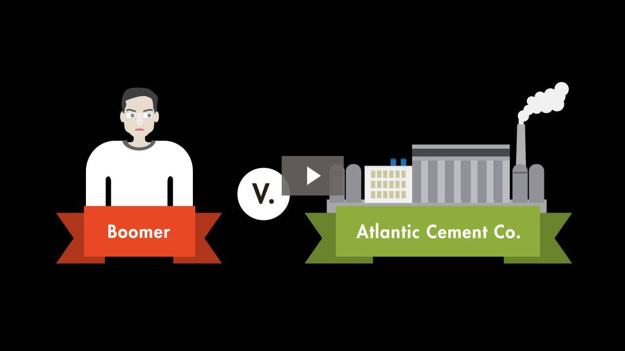 Boomer v. Atlantic Cement Co.