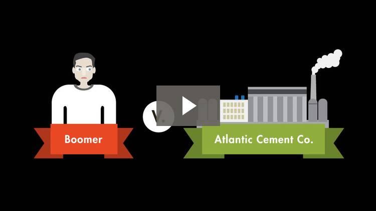 Boomer v. Atlantic Cement Co.